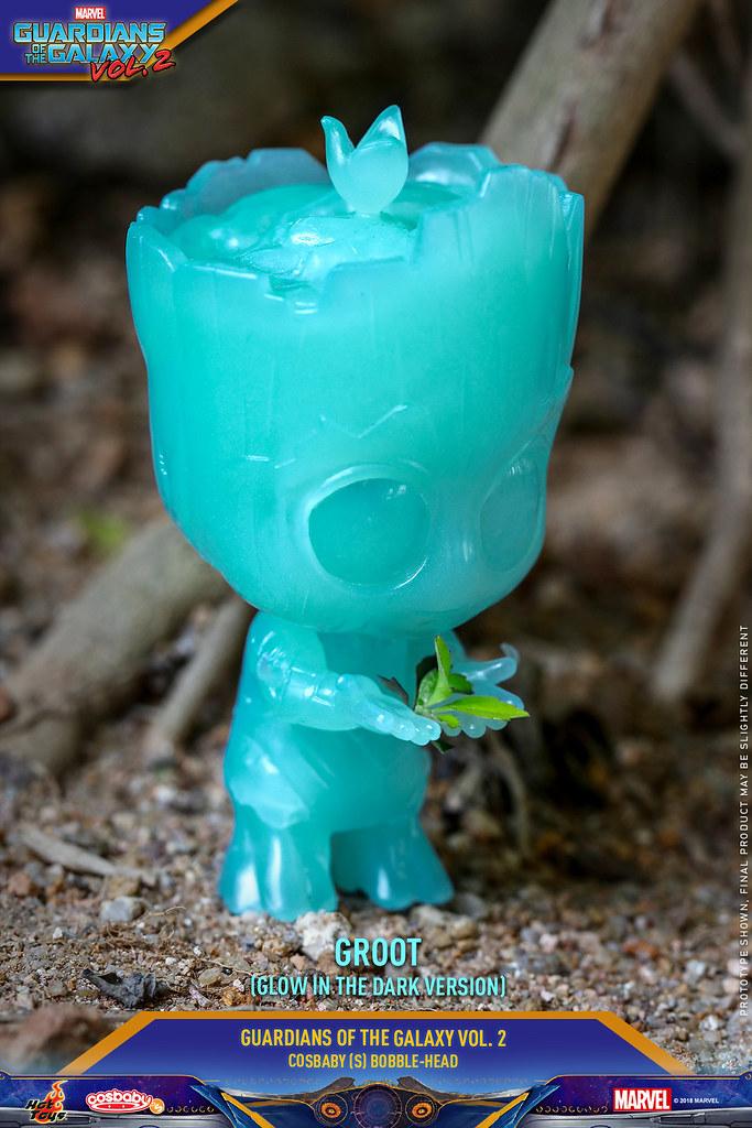 萌力全開!! Hot Toys - COSB453-458《星際異攻隊2》小格魯特 Guardians of the Galaxy Vol. 2 Groot Cosbaby Bobble-Head Series
