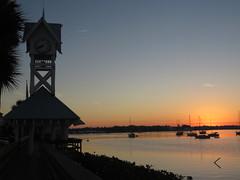 Sunrise from Bridge Street