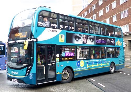 YX16 OKF 'Arriva Midlands' No. 4527 '5/5A'. 'ADL' E40D / 'ADL' Enviro 400 MMC on 'Dennis Basford's railsroadsrunways.blogspot.co.uk'