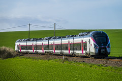 SNCF Intercités Nantes - Bordeaux a Vix (Vendée)