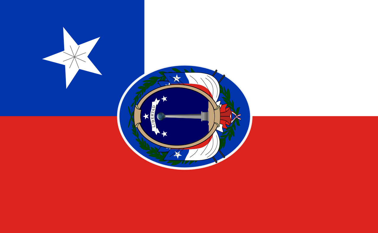 Flag of Chile (1818)
