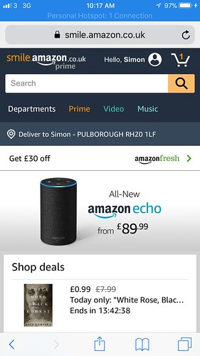 Amazon Smile screenshots