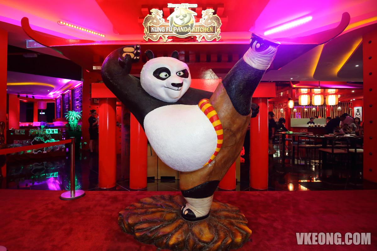 Kung Fu Panda Kitchen Sunway Pyramid