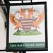 The Salisbury Arms pub sign Southampton Hampshire UK