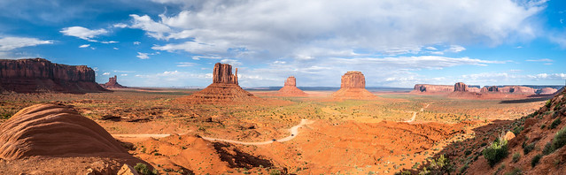Monument Valley West & East Mittens Buttes Breaking Storm Clouds High Res McGucken Fine Art Photography Sunset! Epic Utah Desert Breaking Storm Stormclouds! American West! Monument Valley! Sony A7r & Sony 16-35mm Vario-Tessar T FE F4 ZA OSS E-Mount Lens!