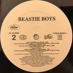 BEASTIE BOYS:GET IT TOGETHER(LABEL SIDE-B)