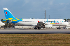 A320 / Aruba Airlines / P4-AAD