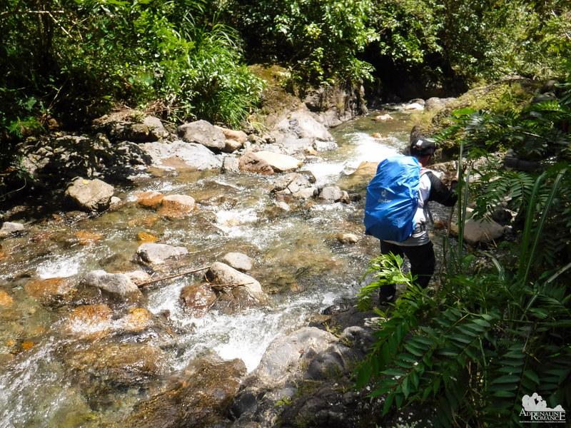 Rapids at Biasong River