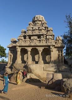 Mamallapuram - Pancha Rathas