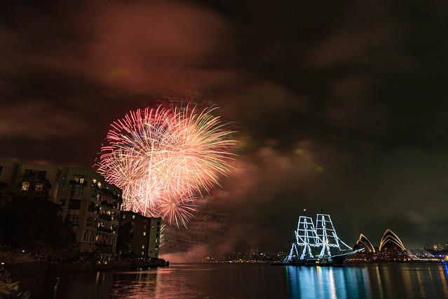 Sydney fireworks 24mm, Nikon D750, AF-S Nikkor 24-120mm f/4G ED VR