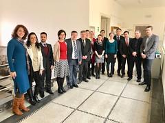 Integrantes das delegações do Brasil e da República Tcheca, reunidos em Praga para a negociação do Acordo de Previdência a ser celebrado entre os países. 16.mar.2018