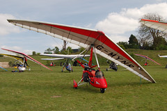 G-MYNR Solar Wings Pegasus [6692] Popham 020509