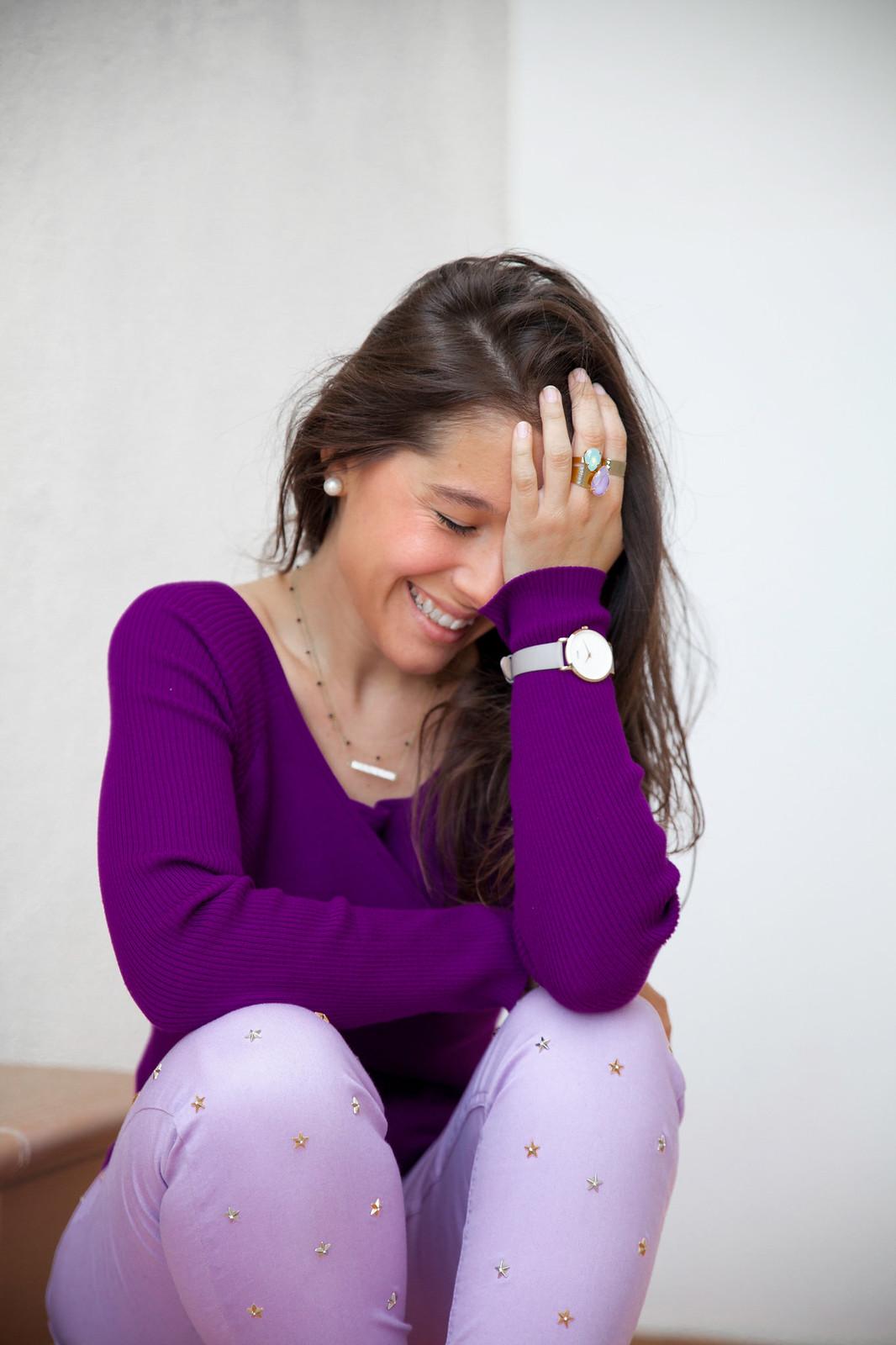 utra violet color del año 2018 Pantone outfit violeta theguestgirl