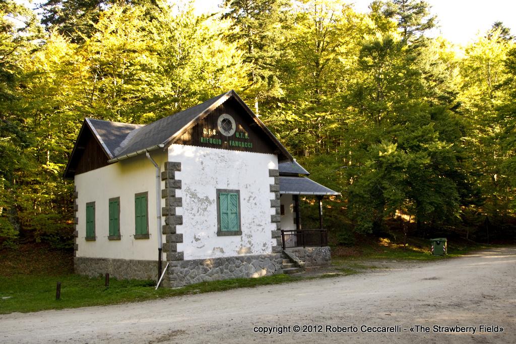 La casa forestale ai Fangacci