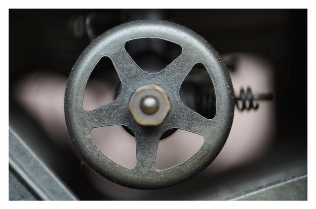 A part of typewriter Underwood No. 5.