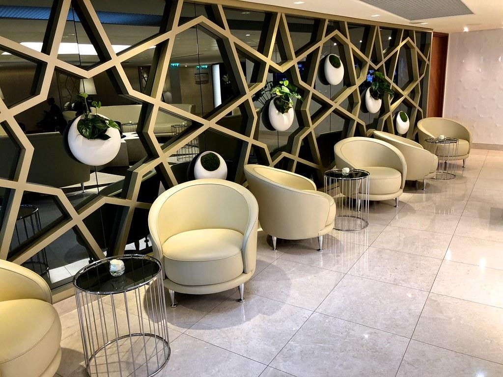 Qatar lounge at Paris CDG 36
