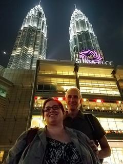 With Inna at Suria & Petronas Towers