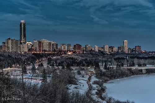 edmonton skyline alberta canada ca pentax pentaxart ricoh urban city cityscape urbex yeg landscape