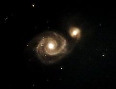 Whirlpool Galaxy 100x10 secs Atik 414 ex CPC 800 HyperStar