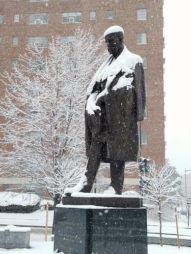 Tomáš Garrigue Masaryk in the Snow