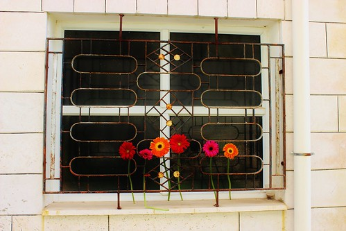 Abandoned Window Art