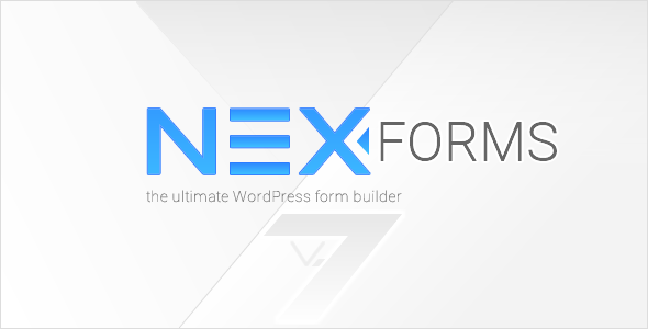NEX-Forms v7.5 - The Ultimate WordPress Form Builder