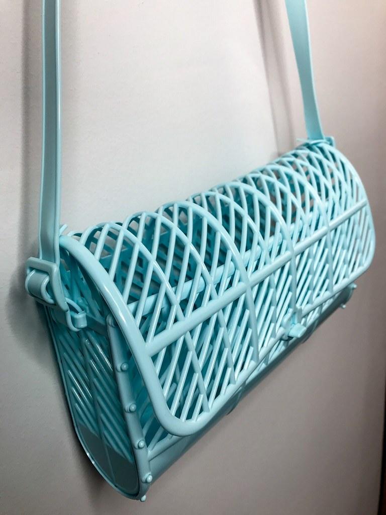 Sun Jellies baby blue purse
