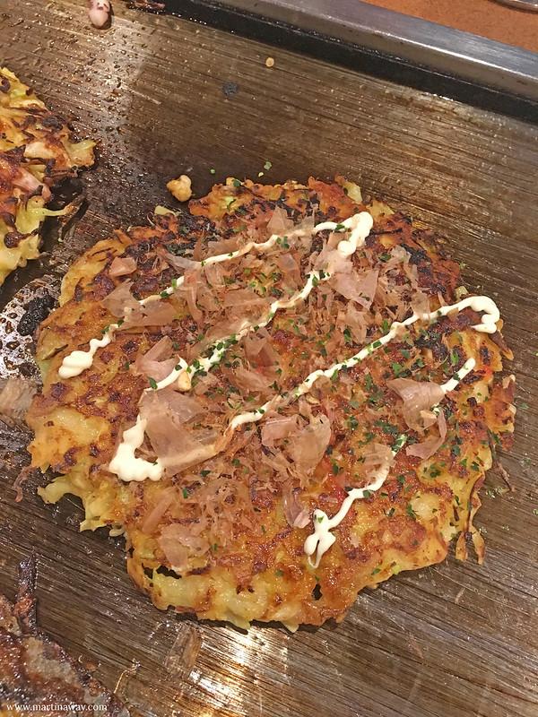 Cucina giapponese: Okonomiyaki a Shinjuku