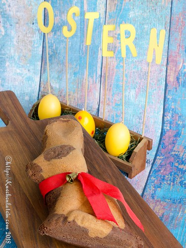Frohe Ostern! Osterhase 2018