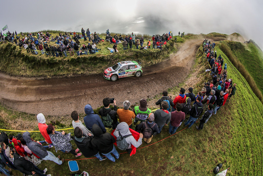 24 HERCZIG Norbert (hun), FERENCZ Ramon (hun), SKODA FABIA R5, action during the 2018 European Rally Championship ERC Azores rally,  from March 22 to 24, at Ponta Delgada Portugal - Photo Jorge Cunha / DPPI