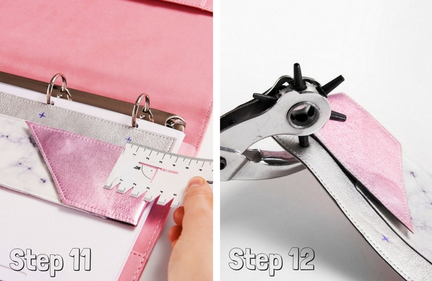 DIY Pencil Case Steps 11 12