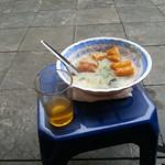 First breakfast in Ha Noi