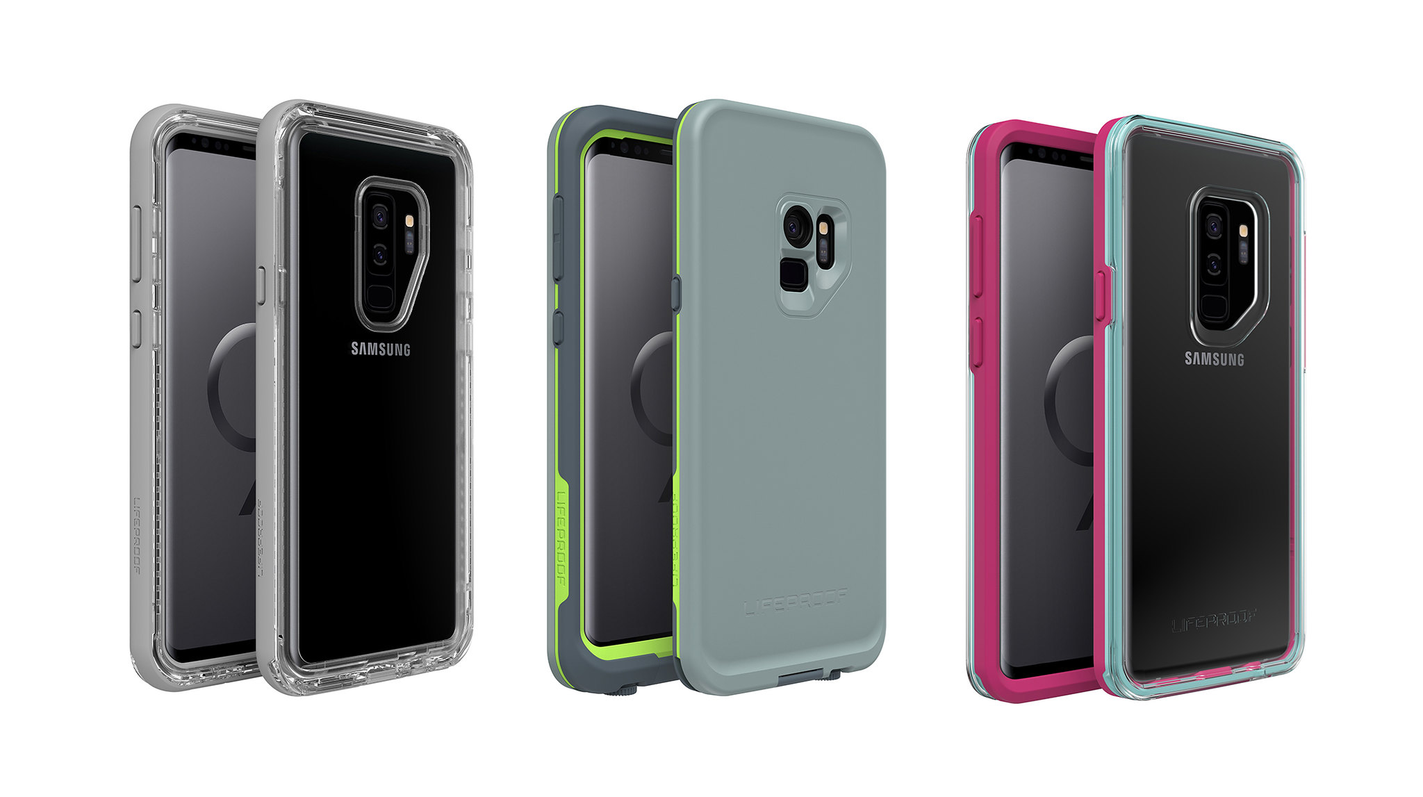 LifeProof Has SLAM, NEXT, and FRE Cases Coming for the Galaxy S9 and S9+