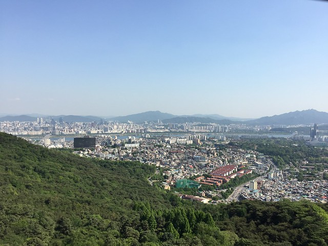 Namsan tower view