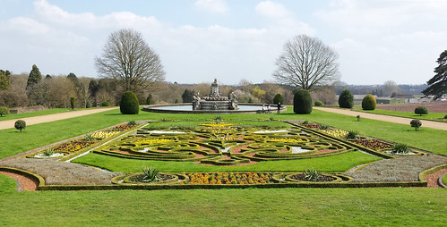 Formal flower beds, Witley Court