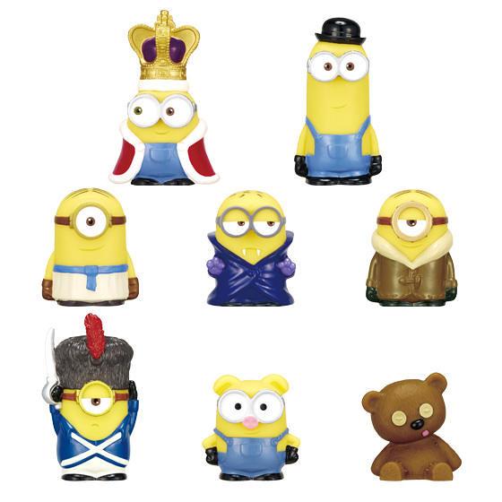 《黃色小小兵》「裝扮朋友」 盒玩歡樂登場!わくわくフレンズ!ミニオン