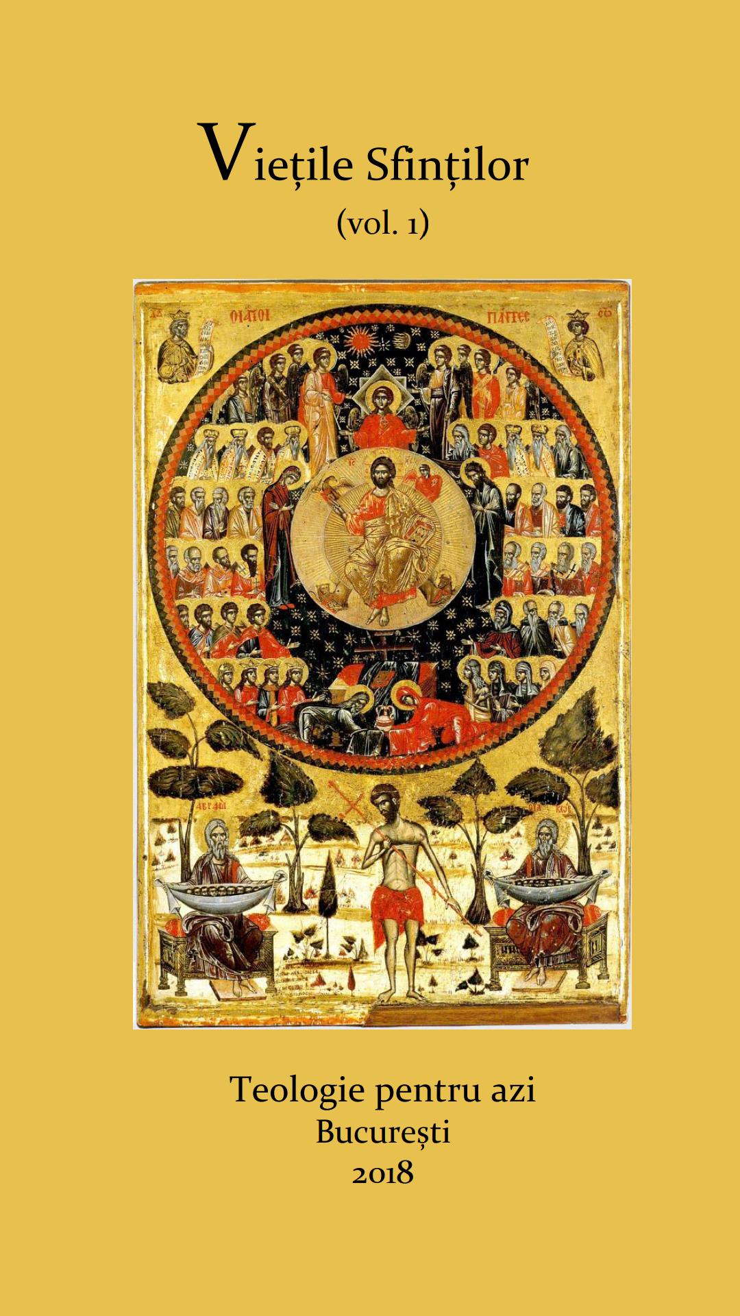 159. Vietile Sfintilor (vol. 1)