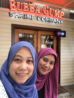 Lunch @ Bubba Gump, Sunway Pyramid