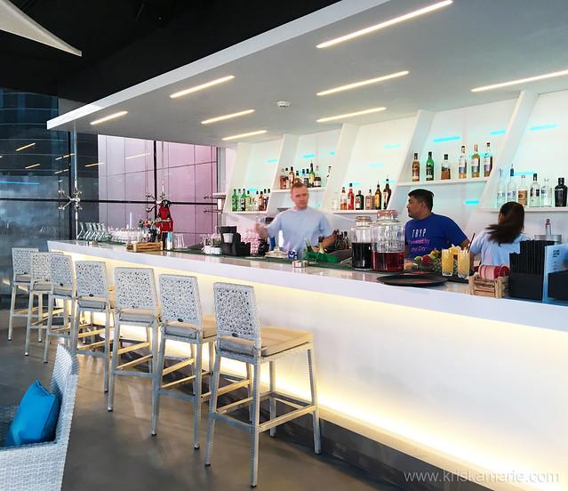 Bar at L!QD at Tryp by Wyndham