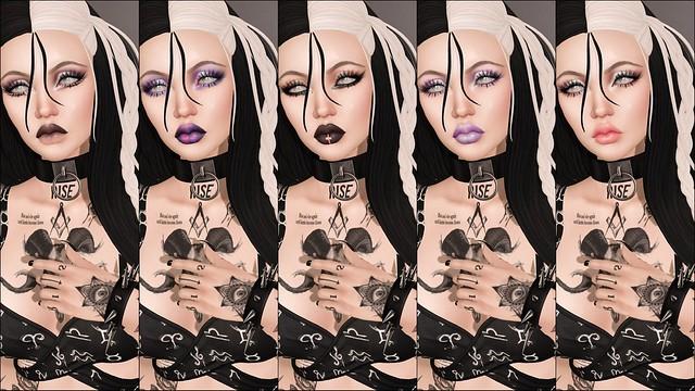 alaskametro Babygoth makeup