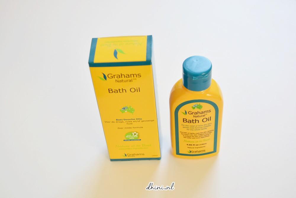 Grahams Natural Bath Oli