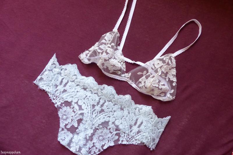 bralette slip lace handmade