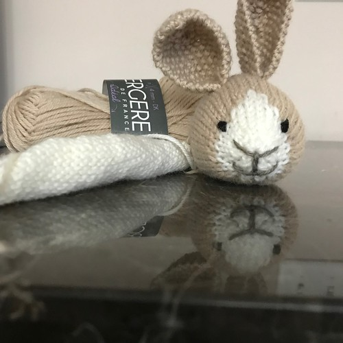 Newest bunny on my needles!