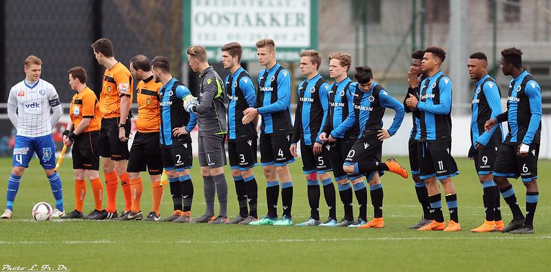 Beloften AA Gent - Beloften Club Brugge