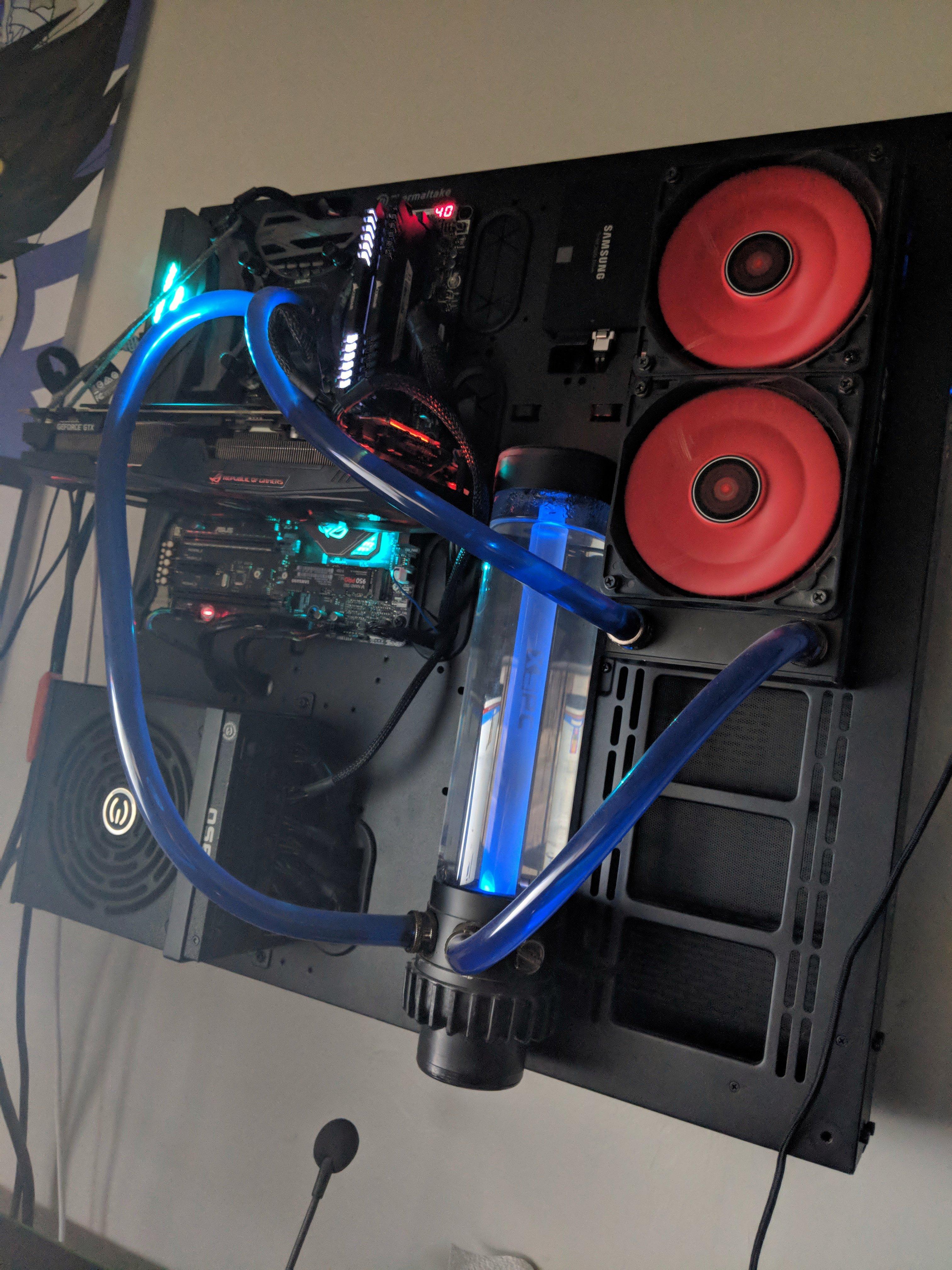 Liquid metal GPU,loop order and radiator  | Tom's Hardware Forum