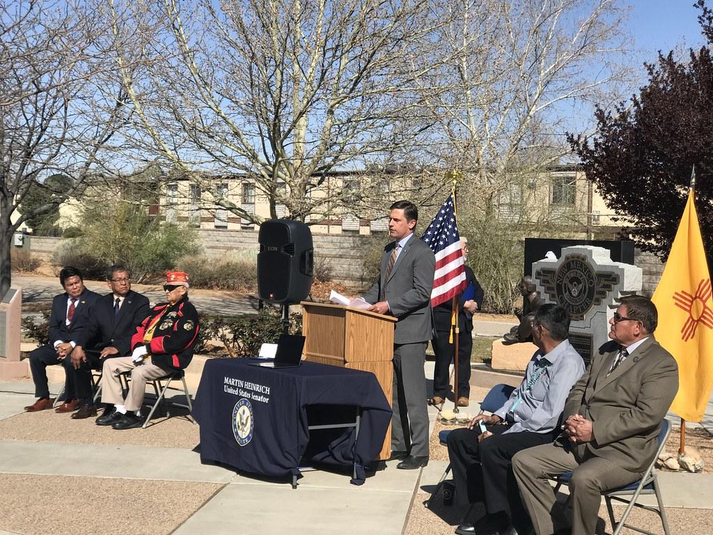 Navajo Code Talker Medal Ceremony In Albuquerque