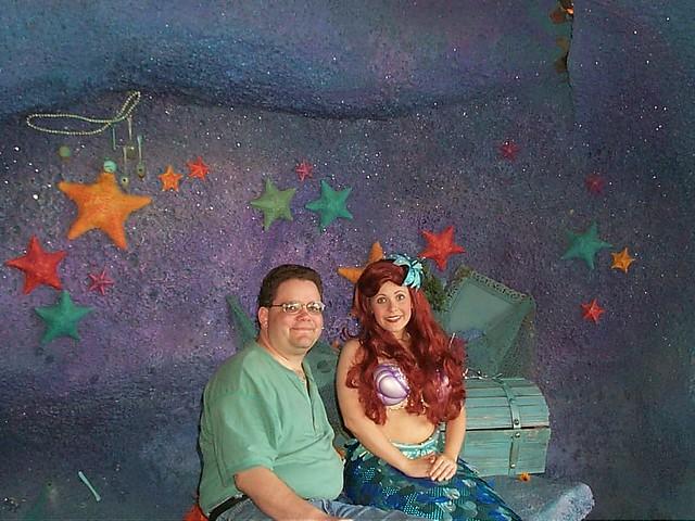 Magic Kingdom Scott and Ariel