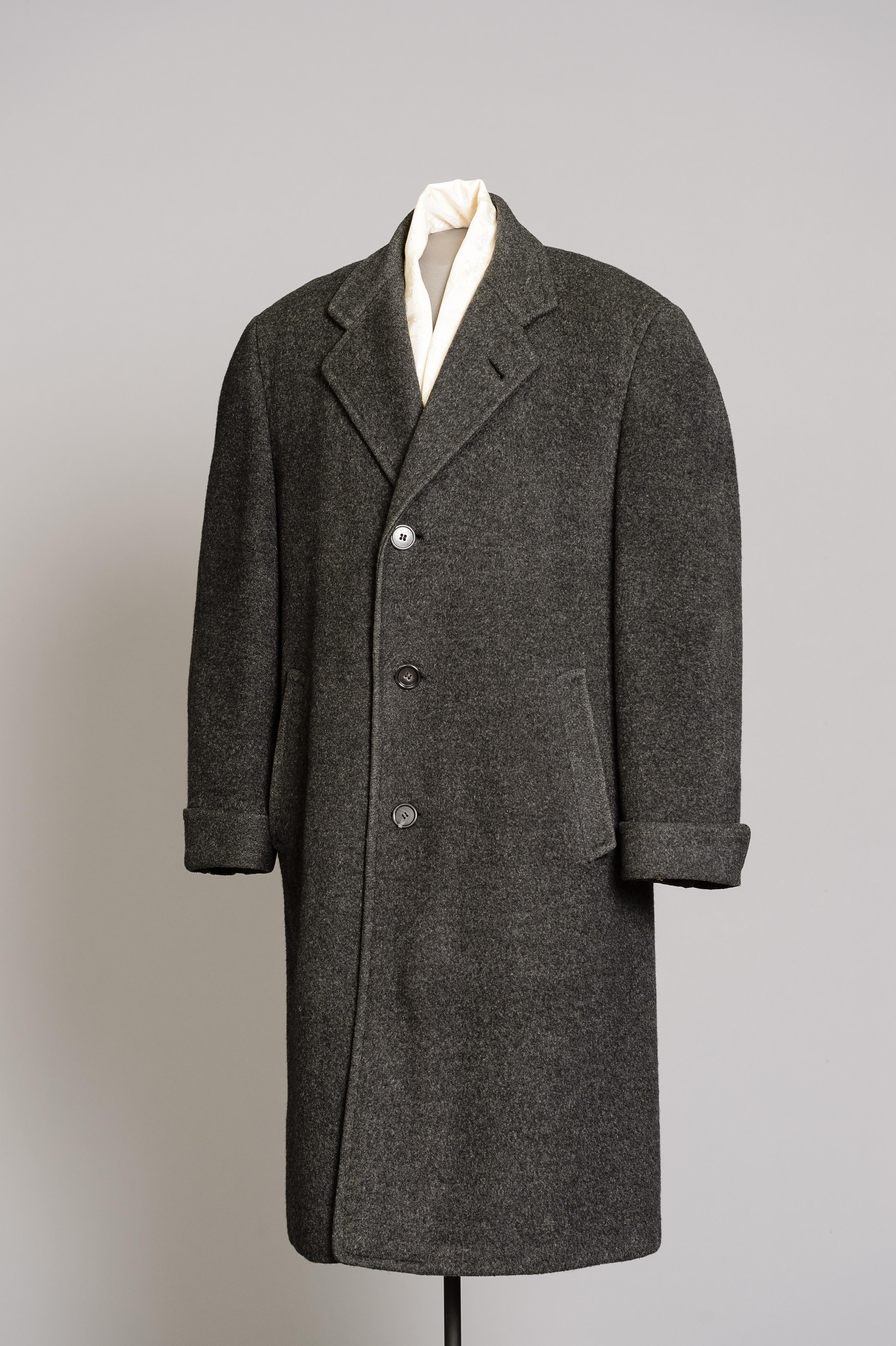 Fashion and Satire: Men's Overcoat