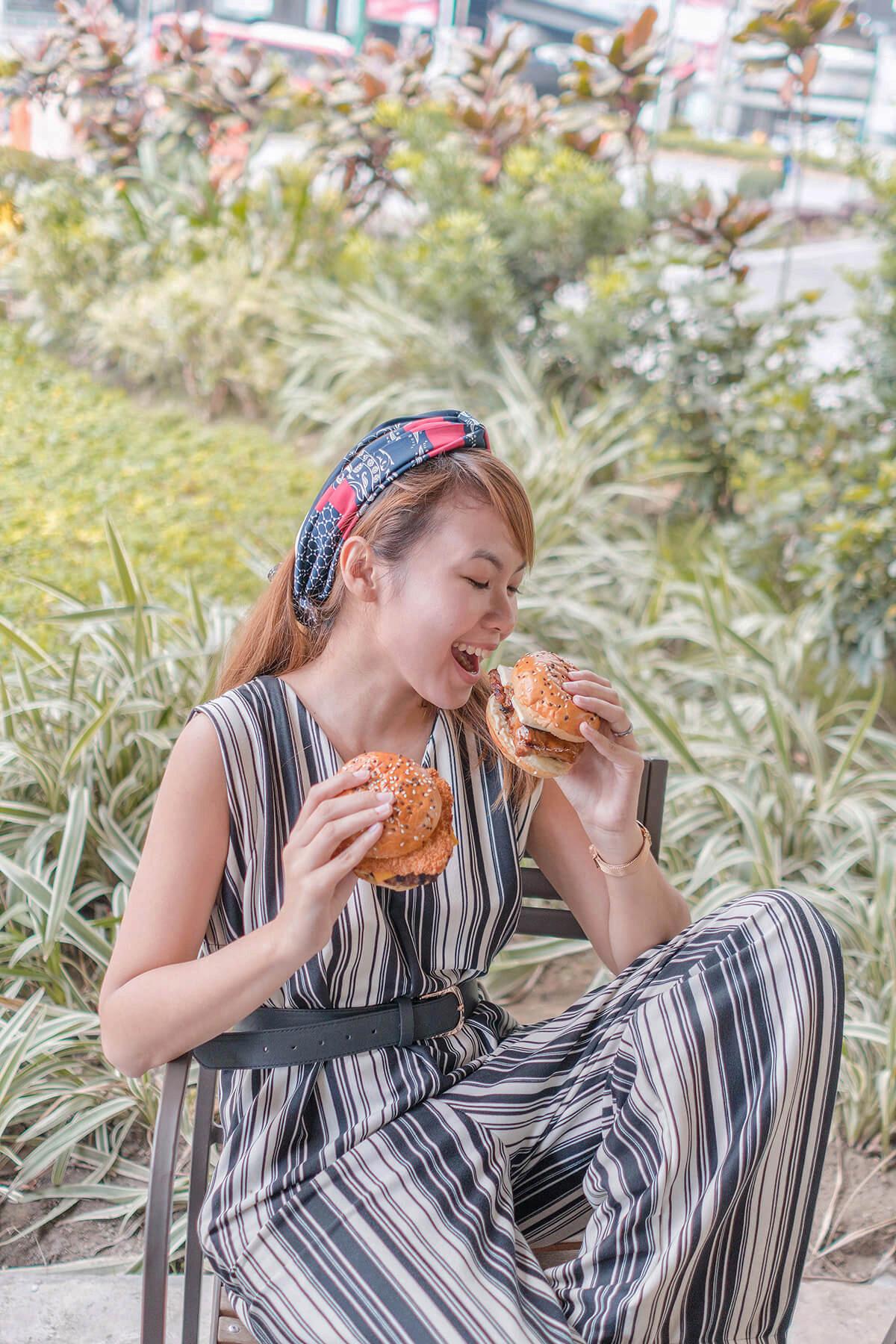 Trice Nagusara Tokyo Tokyo Wagyu Burger