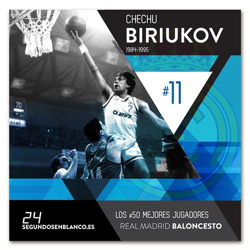 #11 CHECHU BIRIUKOV